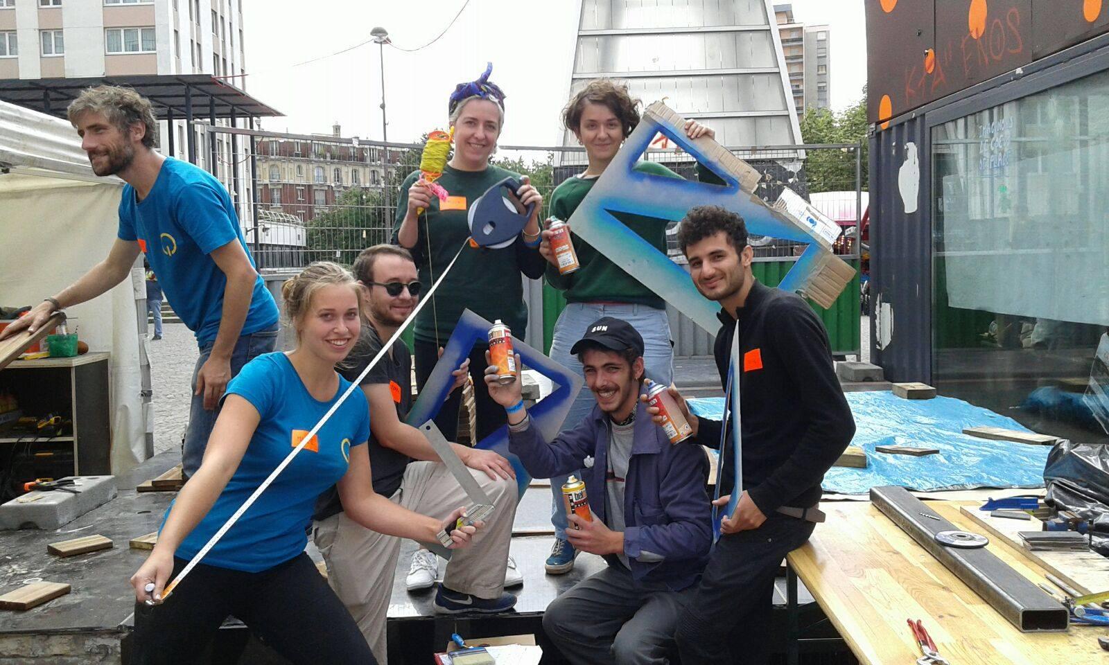 Jeu de rôle : Peinture murale en itinérance!