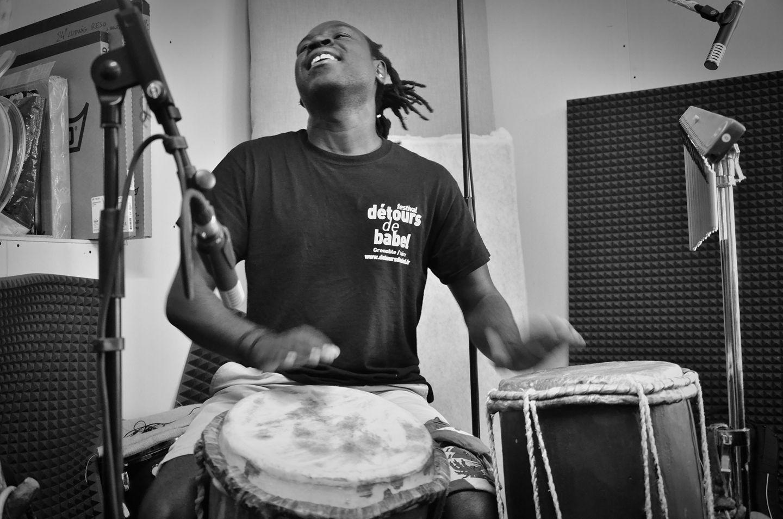 Master drummer d'Haïti, Claude Saturne